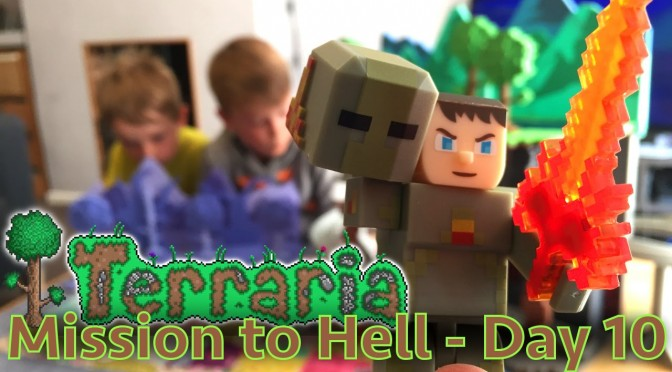 Terraria Part 10 – Toy Multi-Level Biome Lights & Sound Special Edition