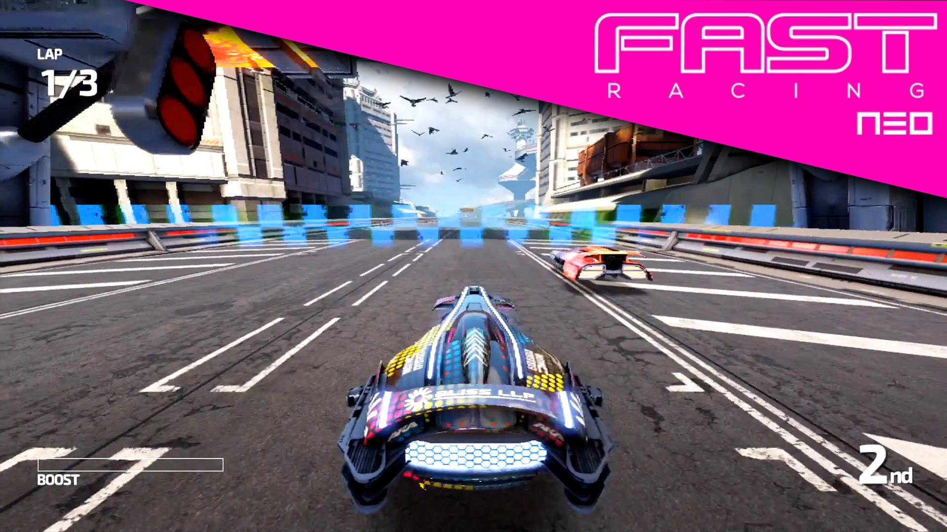 Fast Racing Neo – Subsonic League with Bliss (HD Game-Play)