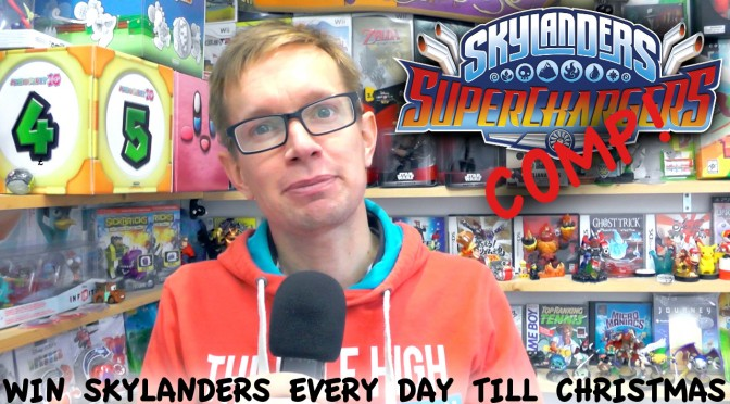 Win £400 Skylanders Superchargers – One a Day Until Christmas
