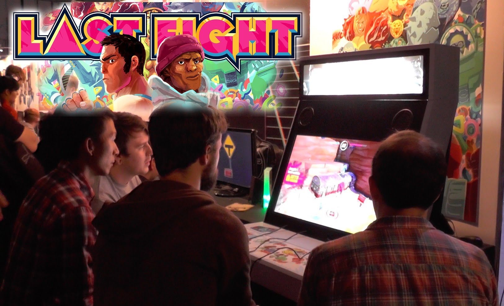 Last Fight – Arcade Cabinate Hands-On (PS4, Xbox One, 360, PS3, PC)