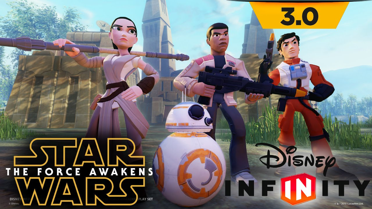 Let's Play Disney Infinity The Force Awakens – Unboxed and Gameplay