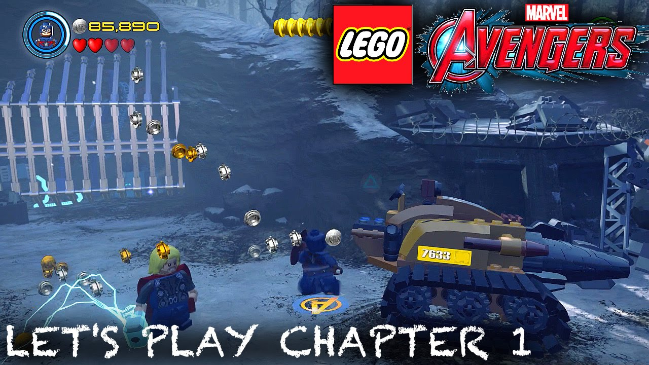 Let's Play Lego Marvel's Avengers Chapter 1 – First 12 Minutes
