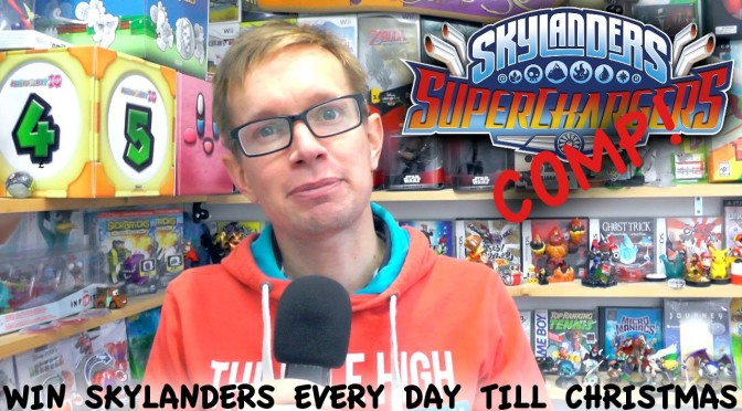 Skylanders Advent Countdown Competition w/ £400 of Prizes