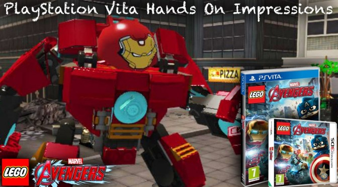 Lego Marvel's Avengers Vita/3DS Hands-On Analysis