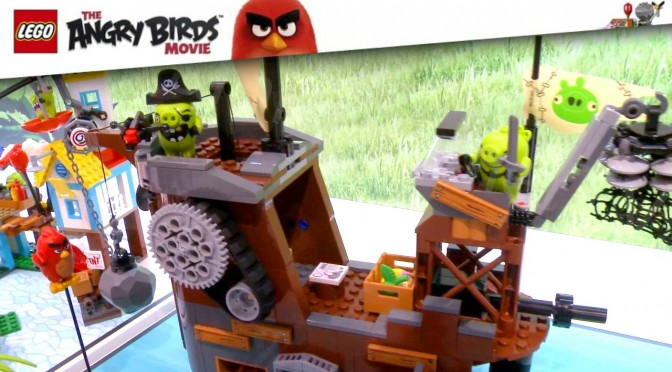 Lego The Angry Birds Movie (75821-75826) 2016 Nuremberg Toy Fair