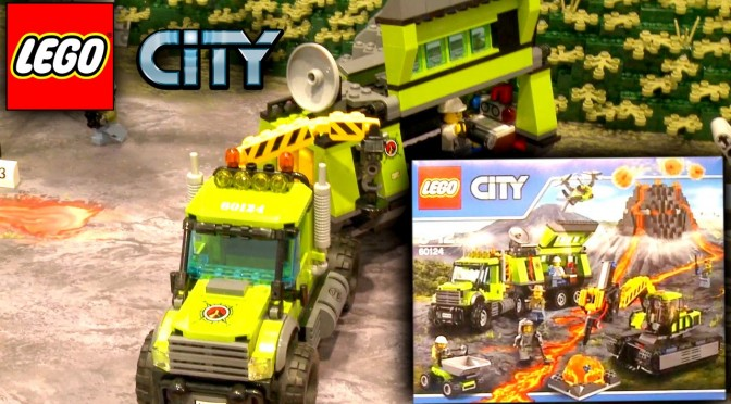 Lego City 2016 Volcano Explorers (60120-60124) Nuremberg Toy Fair