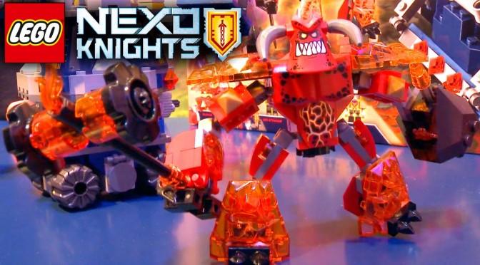 Lego Nexo Knights 2016 (70322 + 70323)  Jestro's Volcano Lair & Axl's Tower Carrier – Nuremberg