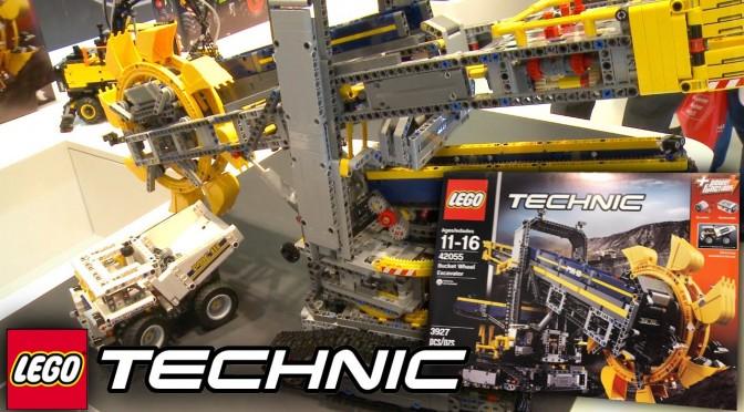 LEGO Technic 2016 – 42055 Bucket Wheel Excavator – Nuremberg Toy Fair