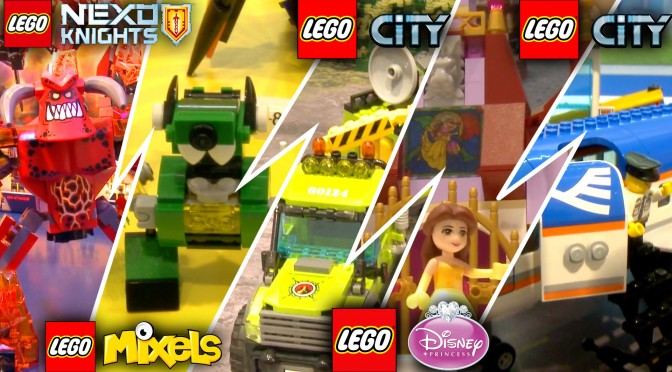 LEGO 2016 Speed Run –  Mixels, Angry Birds, Nexo Knights, Marvel, DC Comics