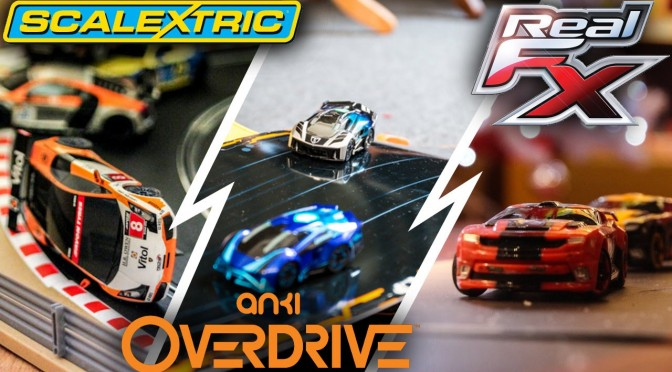 Anki Overdrive vs Real FX vs Scalectrix ARC ONE/AIR