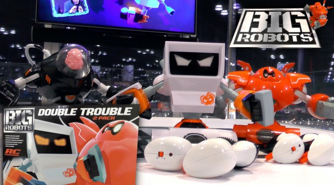Big Robots – Rock 'Em Sock 'Em Robots Gets R/C Motion Control