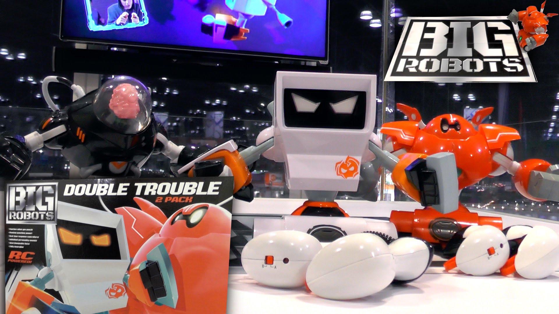 Big Robots – Rock 'Em Sock 'Em Robots Gets R/C Motion Control