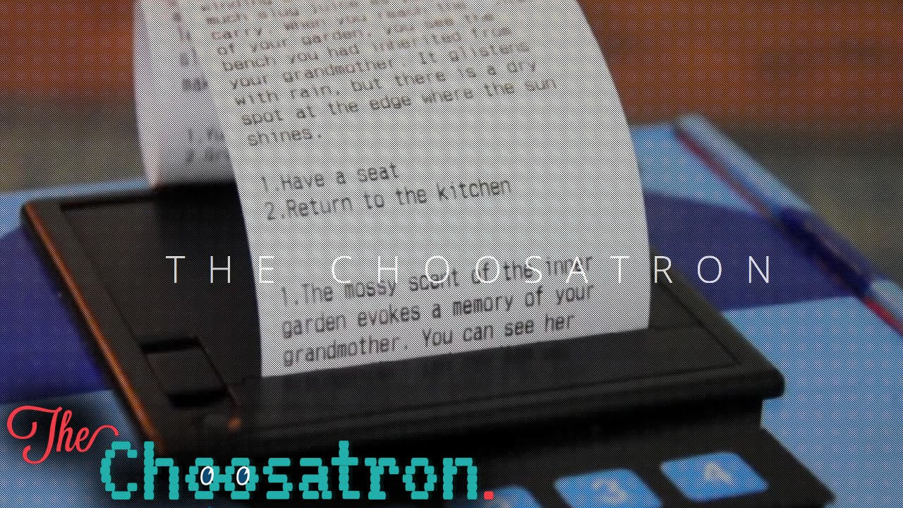 Choosatron – Print and Write Your Own Adventure