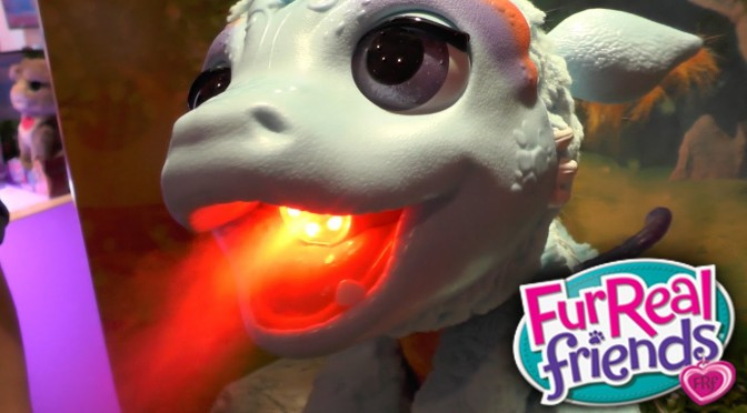 FurReal Friends – Torch Blazin Dragon, Bootsie Kitten