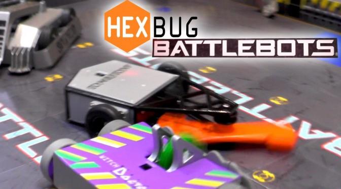 Hexbug Battlebots – Scootin Pals, Nano Nitro, Nano Junior