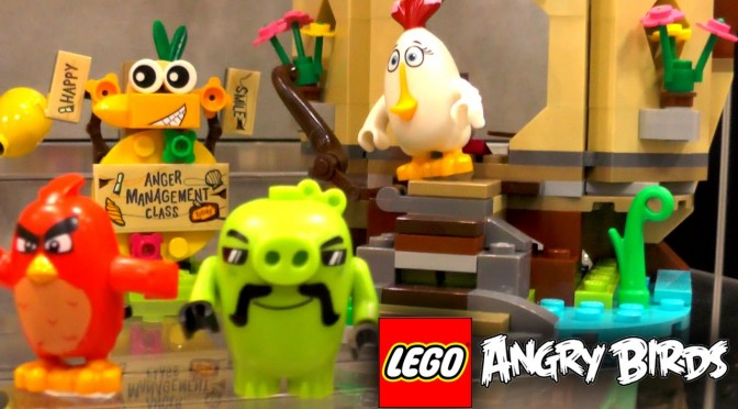 LEGO Angry Birds 2016  (75821-75826)