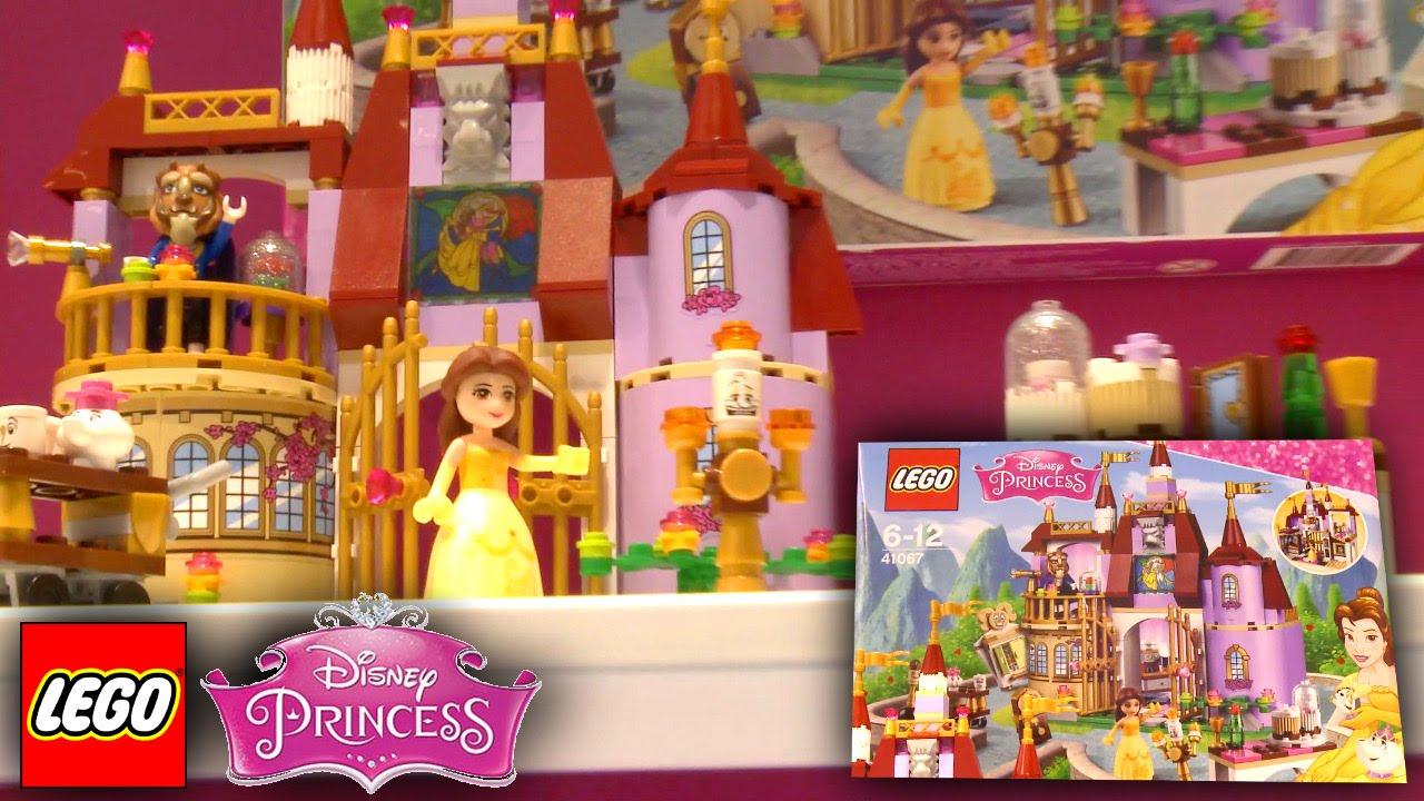 LEGO Disney Princess 2016 – 41067 Belle's Enchanted Castle – Nuremberg Toy Fair