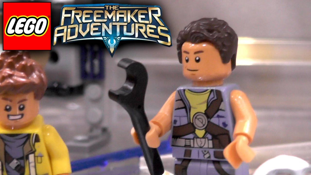 Lego Freemaker Adventures – Closer Look at Eclipse Fighter and Star Scavenger