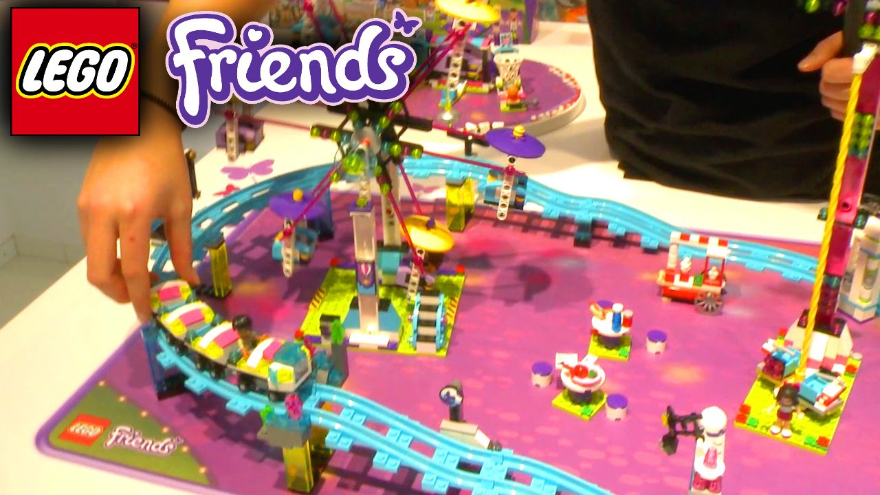 LEGO Friends 2016 (41123-41130) Amusement Park Roller Coaster – Nuremburg Toy Fair