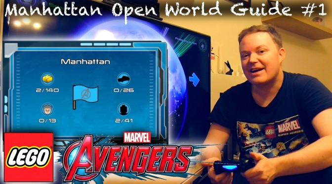 LEGO Marvel Avengers – Manhattan / New York Open World Guide #1
