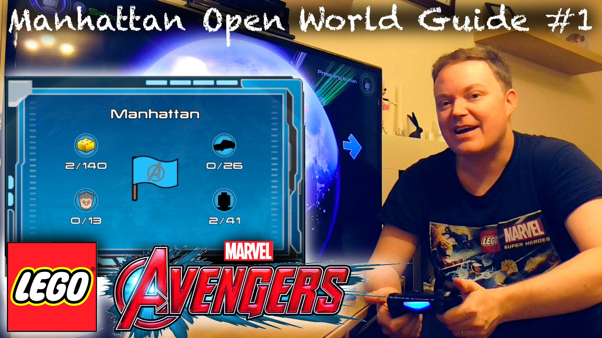 LEGO Marvel Avengers – Manhattan / New York Open World Guide #1