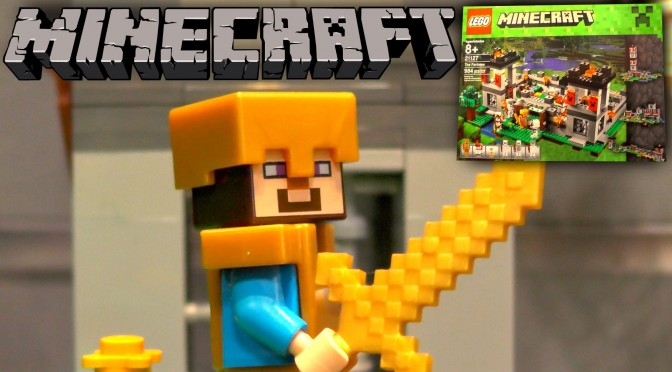Lego Minecraft 2016 – 21127 The Fortress – New York Toy Fair