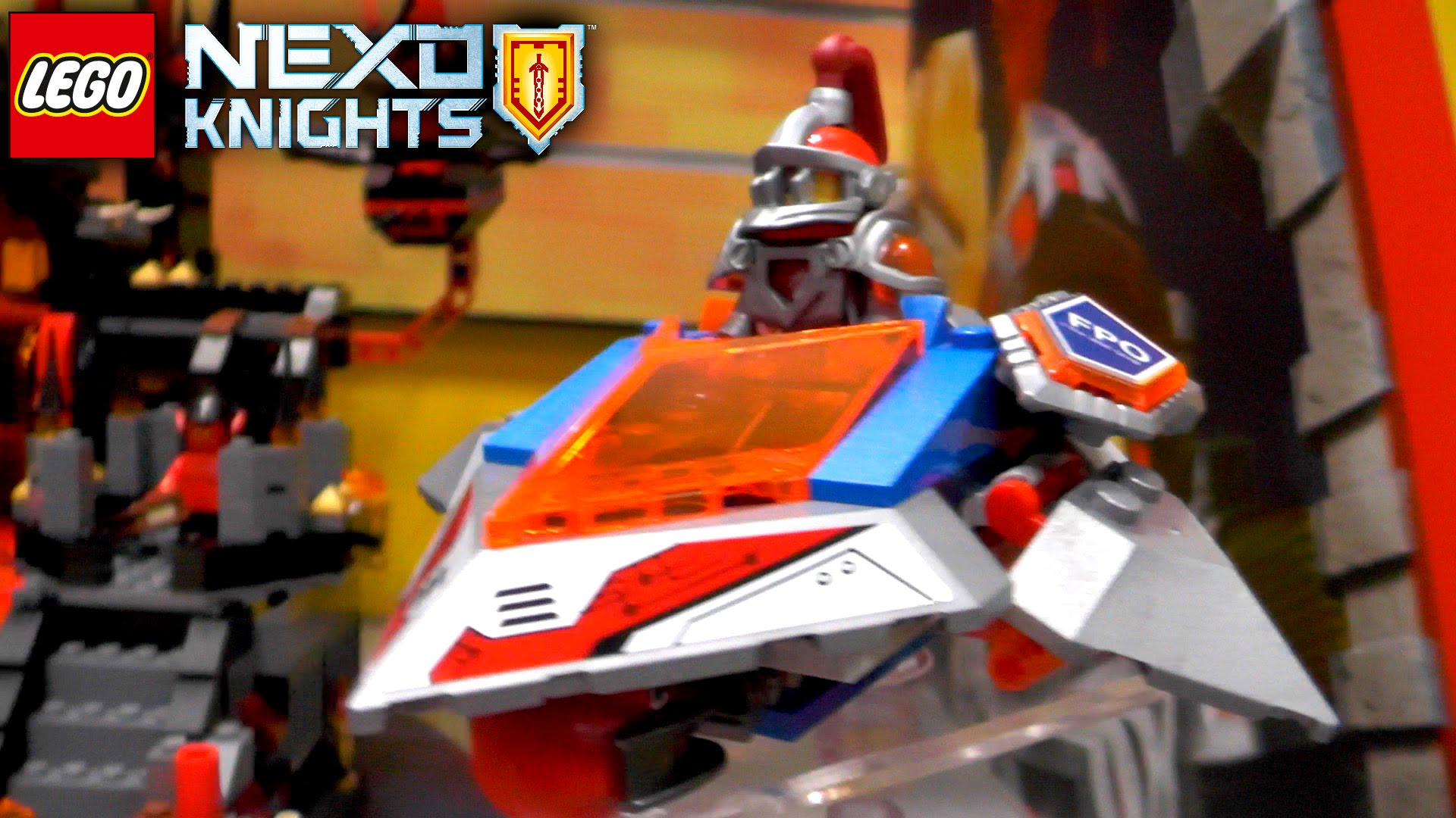LEGO Nexo Knights 2016 Summer & Fall (Ultimate Axl, Lance, Magmar, Flama)