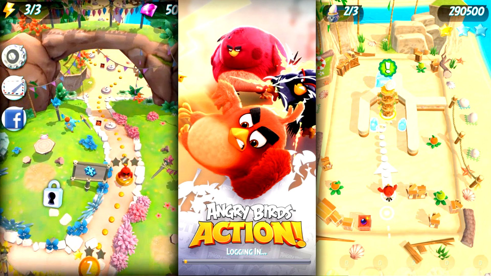Let's Play Angry Birds Action! – (IAP) In-App Purchase Analysis