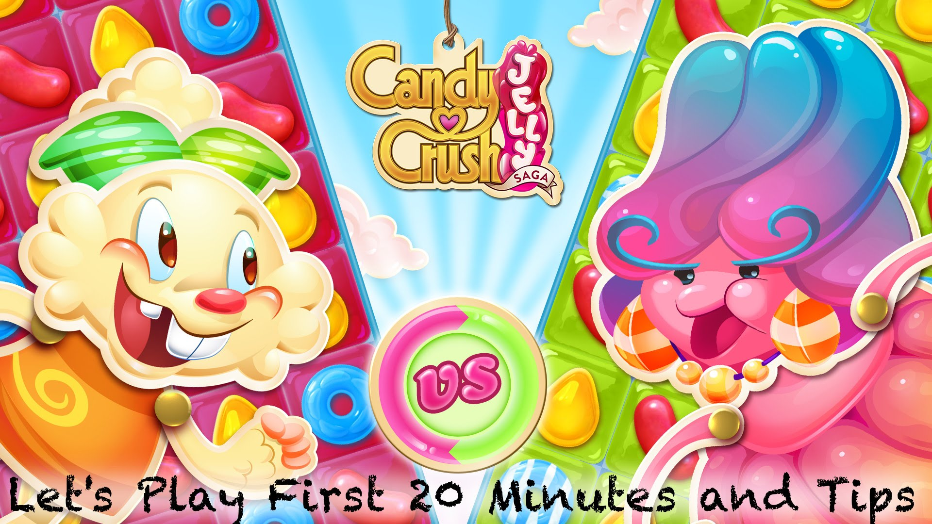 Let's Play Candy Crush Jelly Saga – First 20 Mins w/ Bonus Tips