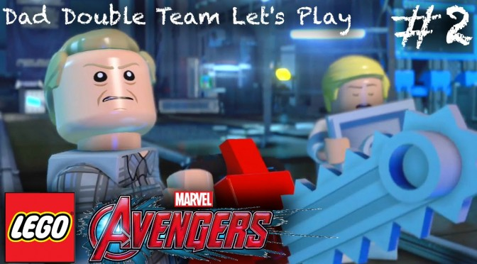Let's Play Lego Marvel's Avengers – Part 2 (Dad Tag Team)