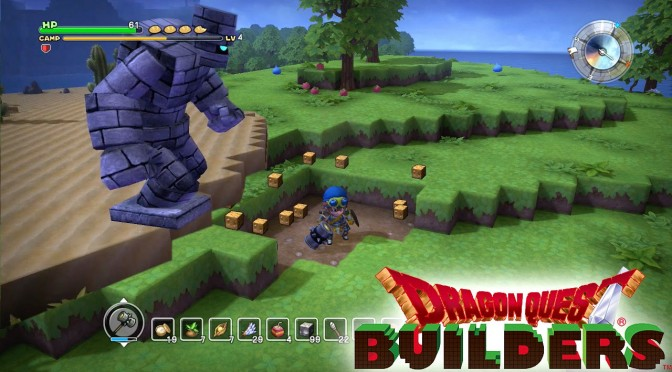 Minecraft + Dragon Quest = Dragon Quest Builders (PS3, PS4, PS Vita)