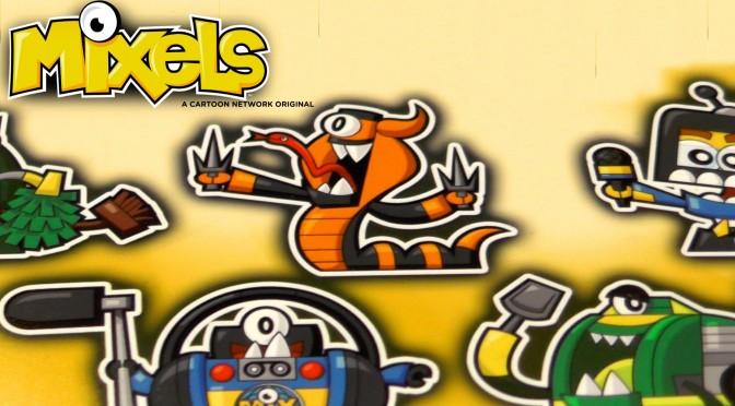 Mixels Cartoon Art for Season 3 & Mixopolis (Series 9, Series 8 ...