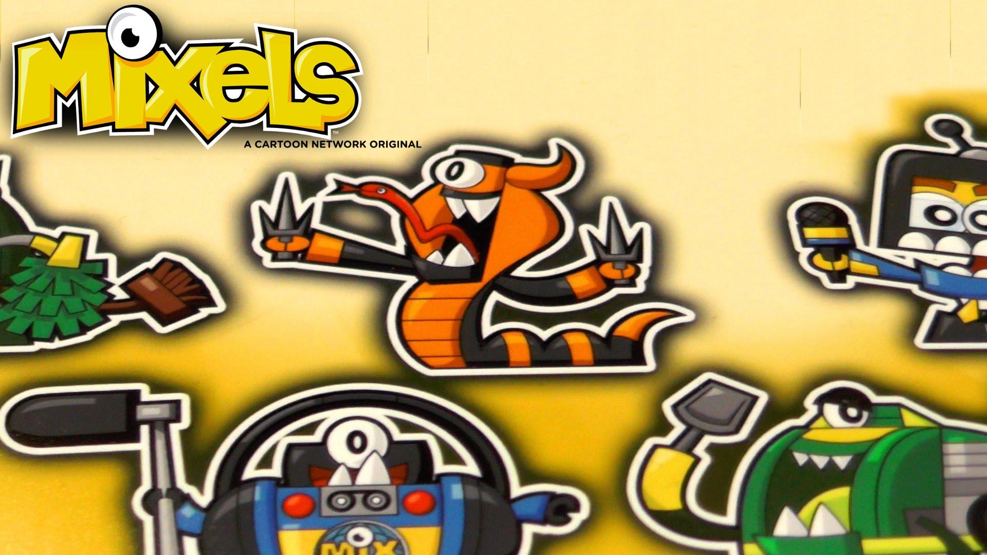 Mixels Cartoon Art for Season 3 & Mixopolis (Series 9, Series 8, Series 7)
