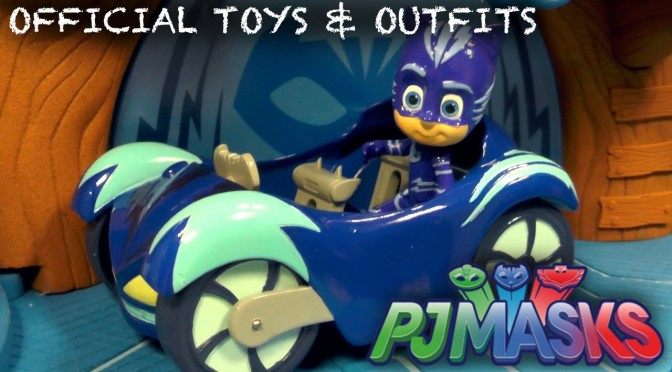 Official PJ Masks Toys, Cars, Outfits, Pajamas