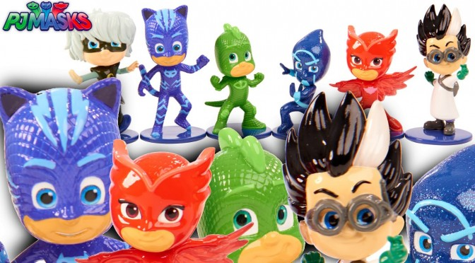 PJ Masks Action Toys – Exclusive First Look (New York Toy Fair)