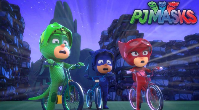 PJ Masks S01 – Gekko Floats / Catboy's Two Wheeled Wonder – Sneak Peek