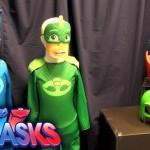PJ Masks Toy Showcase – Outfits & Masks