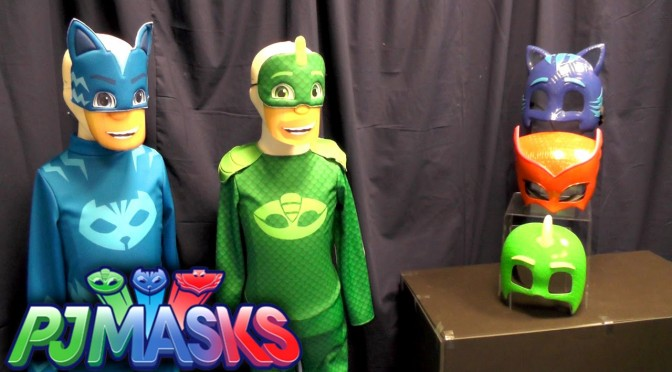 PJ Masks Toy Showcase – Outfits & Masks