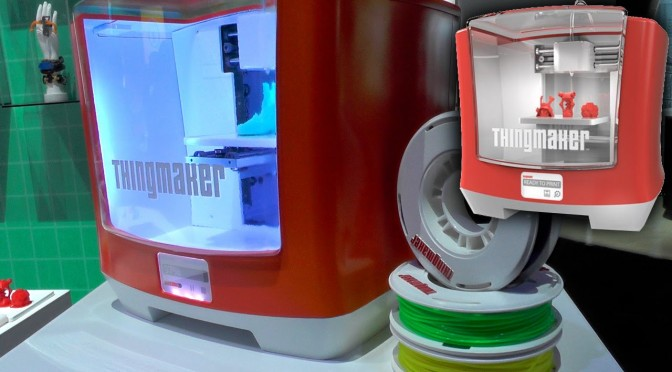 ThingMaker Hands-On 3D Printing from Mattel