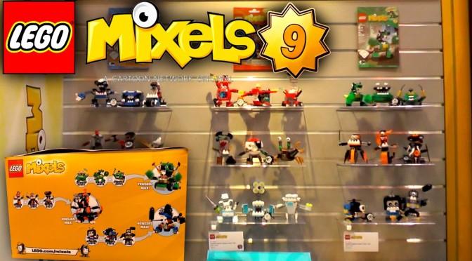 LEGO Mixels 2016 – Series 9, 8 & 7 – Trashoz, Nindjas, Newzers Tribes (41554-41580)