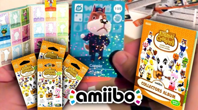 Series 2 Amiibo Cards – Animal Crossing Opening