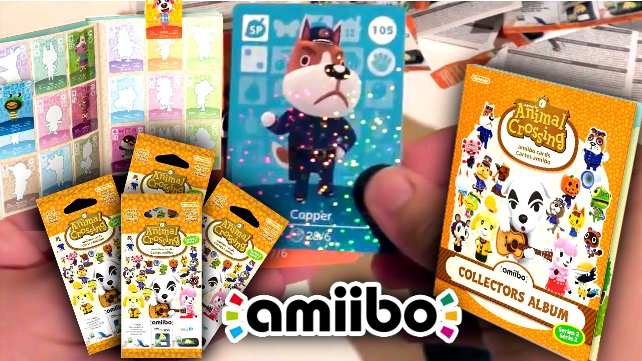 Series 2 Amiibo Cards – Animal Crossing Opening
