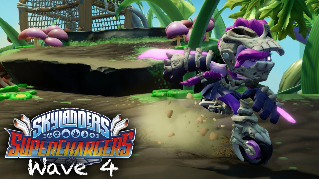 Skylanders Superchargers Wave 4