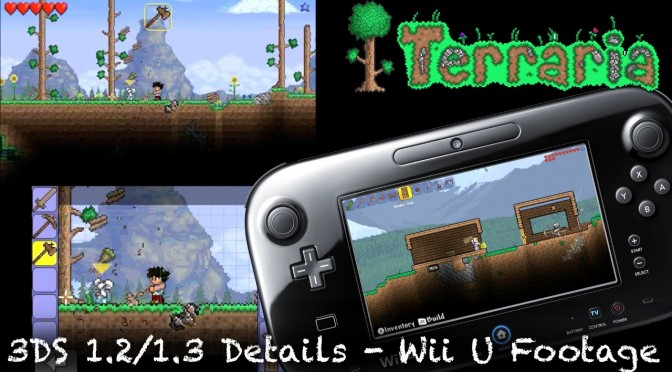 Terraria Wii U & 3DS Developer Speaks – Minecarts, Fishing, 1.2, 1.3