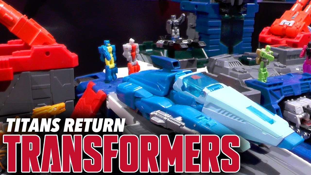 Transformers Generations – Titans Return Deluxe Blurr & Scourge, Combiner Victorion for 2016