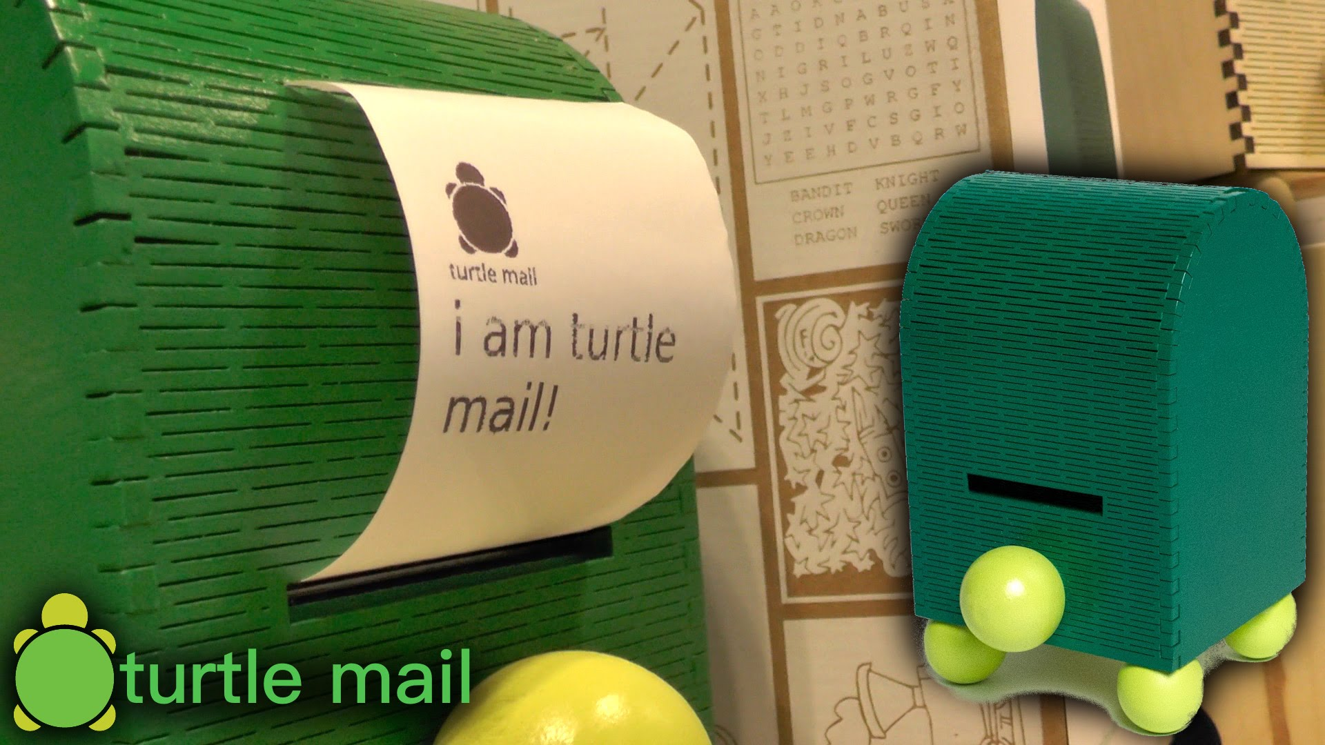 Turtle Mail – Safe Printed Messaging for Kids