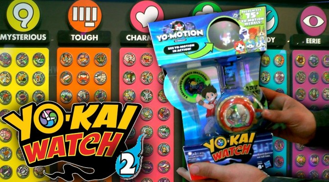 Yo-Kai Watch Series/Season 2 – Yo Motion Watch, Medals, Rare Yo-Kai Medals, Tribes
