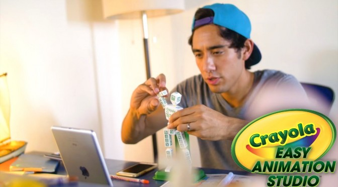 Zach King Top Videos & Toys to Life Crayola Animation