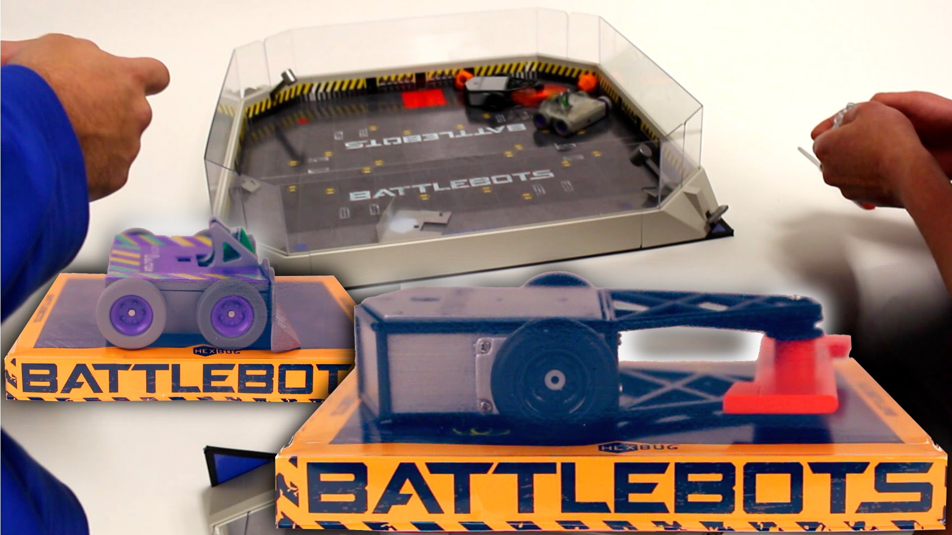 Battlebots Hex Bug Battle (Tombstone vs Witch Doctor)