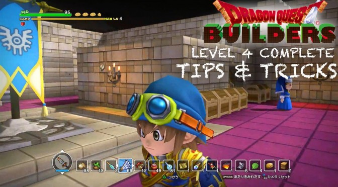 Dragon Quest Builders – Complete, Level 4 Camp Max